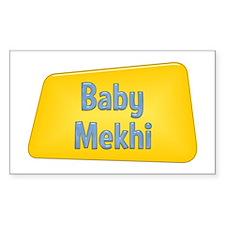 Baby Mekhi Rectangle Decal