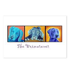 The Weimaraner Postcards (Package of 8)