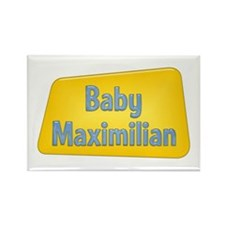 Baby Maximilian Rectangle Magnet (100 pack)