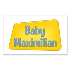 Baby Maximilian Rectangle Decal