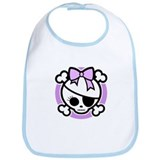 Molly Bow III -purple Bib