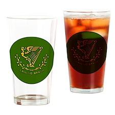 ERIN-GO-BRAGH-3-INCH-BUTTON Drinking Glass