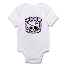 Molly Bow III -purple Infant Bodysuit