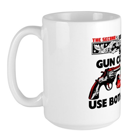 """Use Both Hands!"" Mug"