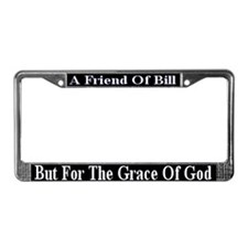 But For The Grace Of God License Plate Frame