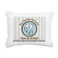 CP nursing instruc 1 Rectangular Canvas Pillow