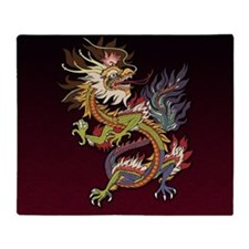 dragon_chinese9 Throw Blanket