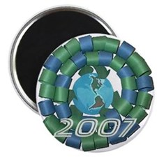 Recycle Wreath 2007 Magnet