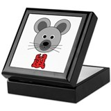 Chinese Mouse Keepsake Box
