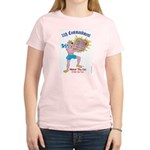 HONOR THY CAT! Women's Pink T-Shirt
