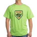 Chippewa Police Green T-Shirt