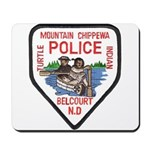 Chippewa Police Mousepad