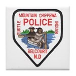 Chippewa Police Tile Coaster