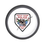 Chippewa Police Wall Clock