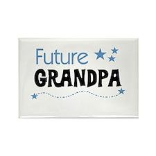 Future Grandpa Rectangle Magnet