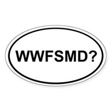 WWFSMD? Oval Decal