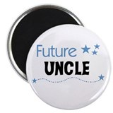 Uncle to be 2.25&quot; Round Magnet