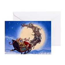 A MERRY CHRISTMAS TO ALL! 10Pk Greeting Cards