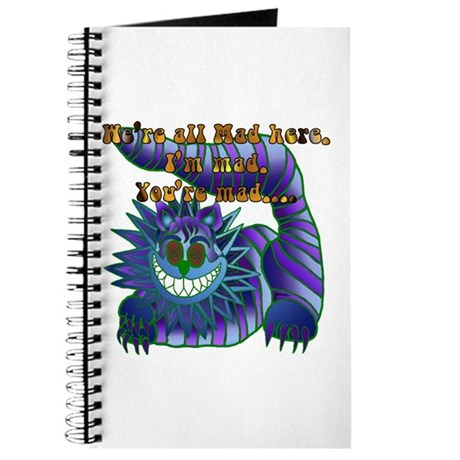 Mad Cheshire Cat Jade Journal