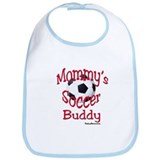Infant/Toddler Red Mommy's Soccer Buddy Bib