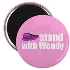 "Stand with Wendy 2.25"" Magnet (100 pack)"