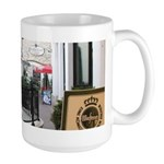 Hungarian Coffee Shop Large Mug