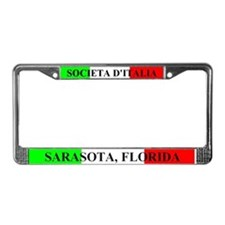 Sons of italy License Plate Frame