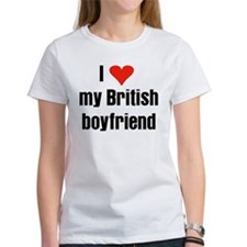 I Love my British Boyfriend Tee
