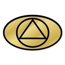 Gold Gold Auto ID Decal