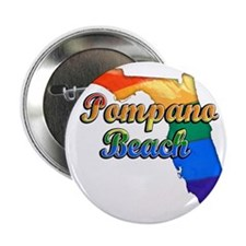 "Pompano Beach 2.25"" Button"