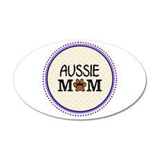 Aussie Dog Mom Wall Decal