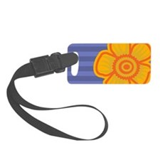 miniWalletYellowFlower Luggage Tag