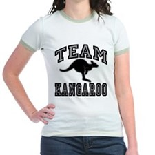 Team Kangaroo Grey T