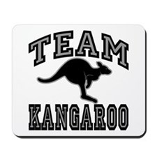 Team Kangaroo Grey Mousepad