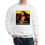 Bring Our Troops Home Mona Li Sweatshirt