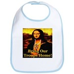 Bring Our Troops Home Mona Li Bib