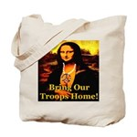 Bring Our Troops Home Mona Li Tote Bag