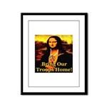 Bring Our Troops Home Mona Li Framed Panel Print
