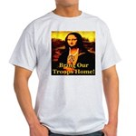 Bring Our Troops Home Mona Li Light T-Shirt