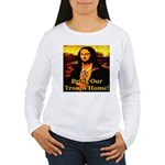 Bring Our Troops Home Mona Li Women's Long Sleeve