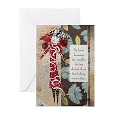 BestDressed Greeting Card
