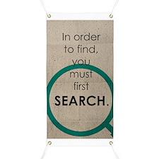 Seek to Find Banner