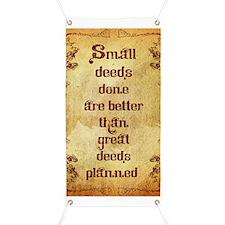 Small Deeds Banner