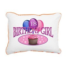 BDayGirl-18 Rectangular Canvas Pillow