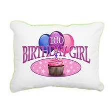BDayGirl-100 Rectangular Canvas Pillow