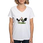 Brassy Back OE Women's V-Neck T-Shirt