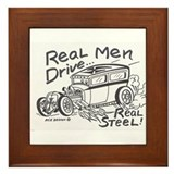 Funny Rat fink Framed Tile