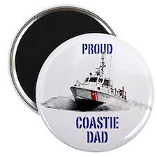 USCG Boat Dad Mug Magnet