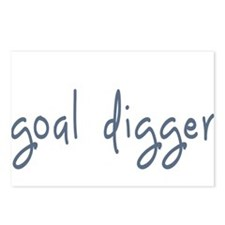 goal digger Postcards (Package of 8)