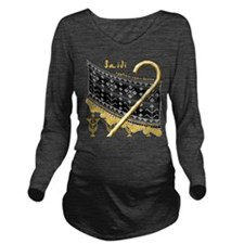 Cute Egyption Long Sleeve Maternity T-Shirt